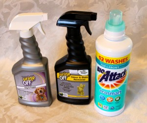 Some cleaning products